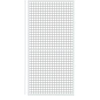 Решетка за стена бяла 200 см